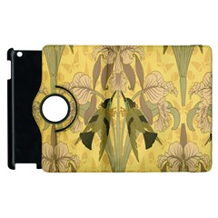 Art Nouveau Apple Ipad 3/4 Flip 360 Case by 8fugoso