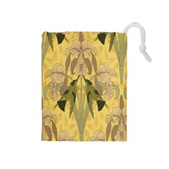 Art Nouveau Drawstring Pouches (medium)  by 8fugoso