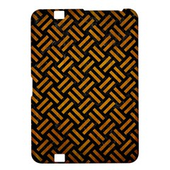 Woven2 Black Marble & Yellow Grunge (r) Kindle Fire Hd 8 9