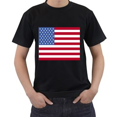 UnitedStates Black T-Shirt by nazimsiteler