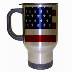 UnitedStates Travel Mug (Silver Gray) by nazimsiteler