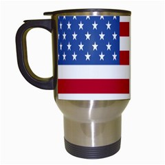 UnitedStates Travel Mug (White) by nazimsiteler