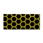 HEXAGON2 BLACK MARBLE & YELLOW LEATHER (R) Cosmetic Storage Cases
