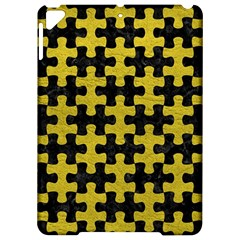 Puzzle1 Black Marble & Yellow Leather Apple Ipad Pro 9 7   Hardshell Case by trendistuff