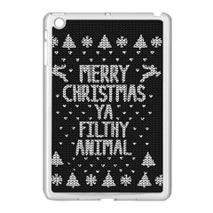 Ugly Christmas Sweater Apple Ipad Mini Case (white) by Valentinaart