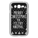 Ugly Christmas Sweater Samsung Galaxy Grand DUOS I9082 Case (White) Front