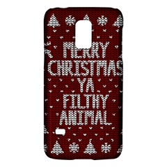 Ugly Christmas Sweater Galaxy S5 Mini by Valentinaart