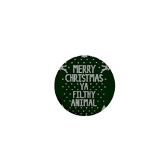 Ugly Christmas Sweater 1  Mini Buttons by Valentinaart