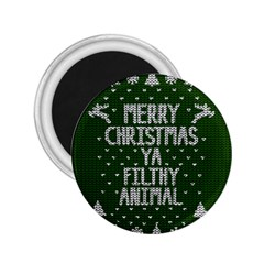 Ugly Christmas Sweater 2 25  Magnets