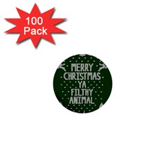 Ugly Christmas Sweater 1  Mini Buttons (100 Pack)  by Valentinaart