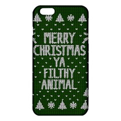 Ugly Christmas Sweater Iphone 6 Plus/6s Plus Tpu Case by Valentinaart