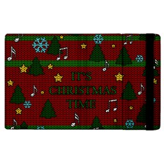 Ugly Christmas Sweater Apple Ipad 3/4 Flip Case