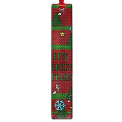 Ugly Christmas Sweater Large Book Marks by Valentinaart