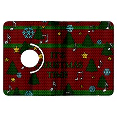 Ugly Christmas Sweater Kindle Fire Hdx Flip 360 Case by Valentinaart