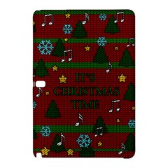 Ugly Christmas Sweater Samsung Galaxy Tab Pro 12 2 Hardshell Case by Valentinaart