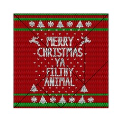 Ugly Christmas Sweater Acrylic Tangram Puzzle (6  X 6 ) by Valentinaart