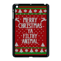 Ugly Christmas Sweater Apple Ipad Mini Case (black) by Valentinaart