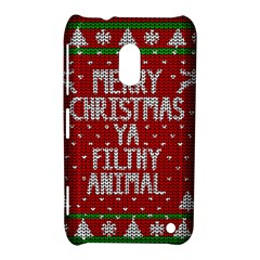 Ugly Christmas Sweater Nokia Lumia 620 by Valentinaart