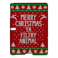 Ugly Christmas Sweater Samsung Galaxy Tab S (10 5 ) Hardshell Case  by Valentinaart