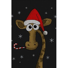 Christmas Giraffe  5 5  X 8 5  Notebooks by Valentinaart