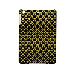 Scales2 Black Marble & Yellow Leather (r) Ipad Mini 2 Hardshell Cases