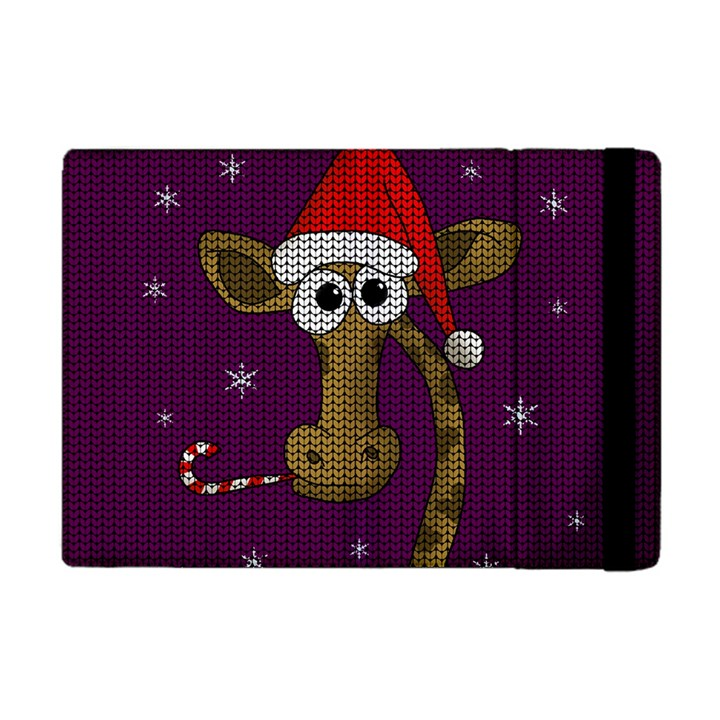 Christmas Giraffe  Apple iPad Mini Flip Case