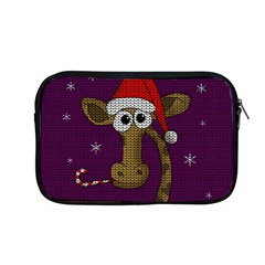 Christmas Giraffe  Apple Macbook Pro 13  Zipper Case by Valentinaart