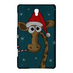 Christmas Giraffe  Samsung Galaxy Tab S (8 4 ) Hardshell Case  by Valentinaart