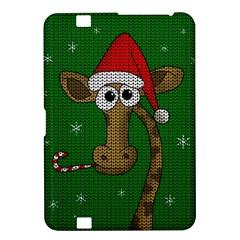Christmas Giraffe  Kindle Fire Hd 8 9  by Valentinaart