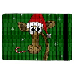 Christmas Giraffe  Ipad Air Flip by Valentinaart