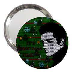 Elvis Presley   Christmas 3  Handbag Mirrors by Valentinaart