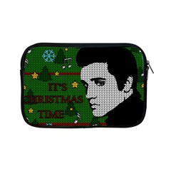 Elvis Presley   Christmas Apple Ipad Mini Zipper Cases by Valentinaart