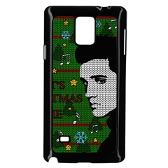 Elvis Presley   Christmas Samsung Galaxy Note 4 Case (black) by Valentinaart