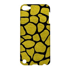 Skin1 Black Marble & Yellow Leather (r) Apple Ipod Touch 5 Hardshell Case by trendistuff