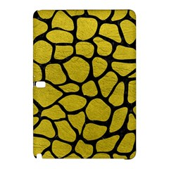 Skin1 Black Marble & Yellow Leather (r) Samsung Galaxy Tab Pro 12 2 Hardshell Case by trendistuff