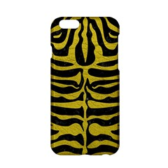 Skin2 Black Marble & Yellow Leather (r) Apple Iphone 6/6s Hardshell Case by trendistuff