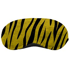 Skin3 Black Marble & Yellow Leather Sleeping Masks by trendistuff