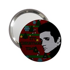 Elvis Presley   Christmas 2 25  Handbag Mirrors by Valentinaart