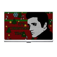 Elvis Presley   Christmas Business Card Holders by Valentinaart