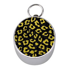 Skin5 Black Marble & Yellow Leather Mini Silver Compasses by trendistuff