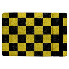 Square1 Black Marble & Yellow Leather Ipad Air Flip by trendistuff