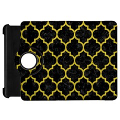 Tile1 Black Marble & Yellow Leather (r) Kindle Fire Hd 7  by trendistuff