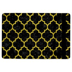 Tile1 Black Marble & Yellow Leather (r) Ipad Air 2 Flip by trendistuff