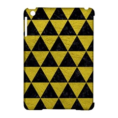 Triangle3 Black Marble & Yellow Leather Apple Ipad Mini Hardshell Case (compatible With Smart Cover) by trendistuff