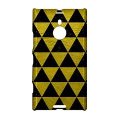 Triangle3 Black Marble & Yellow Leather Nokia Lumia 1520 by trendistuff