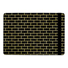 Brick1 Black Marble & Yellow Watercolor (r) Samsung Galaxy Tab Pro 10 1  Flip Case by trendistuff