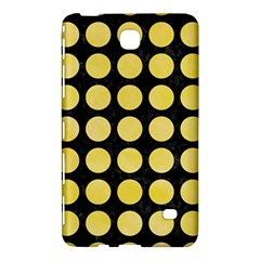 Circles1 Black Marble & Yellow Watercolor (r) Samsung Galaxy Tab 4 (8 ) Hardshell Case  by trendistuff