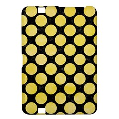 Circles2 Black Marble & Yellow Watercolor (r) Kindle Fire Hd 8 9  by trendistuff