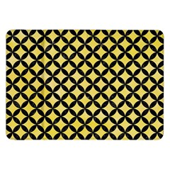 Circles3 Black Marble & Yellow Watercolor Samsung Galaxy Tab 8 9  P7300 Flip Case by trendistuff