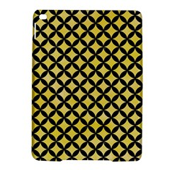 Circles3 Black Marble & Yellow Watercolor Ipad Air 2 Hardshell Cases